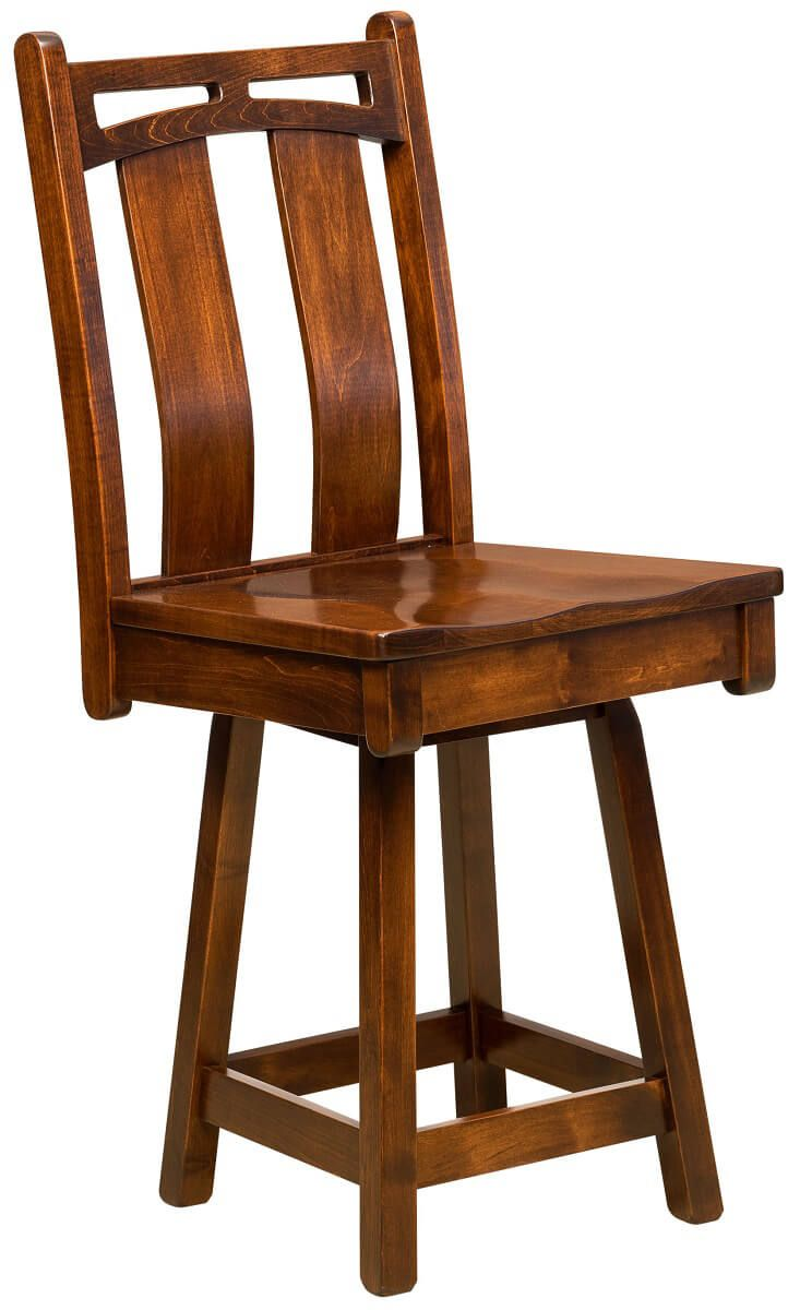 Falling Water Swivel Pub Chair