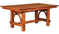 Gridley Modern Trestle Table