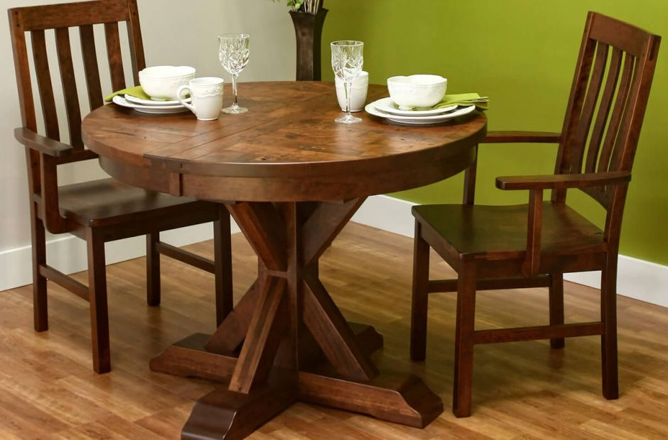 Hotchkiss Rustic Dinette Set - Countryside Amish Furniture