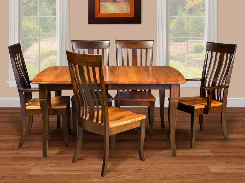 Huxley Modern Amish Dining Set - Countryside Amish Furniture