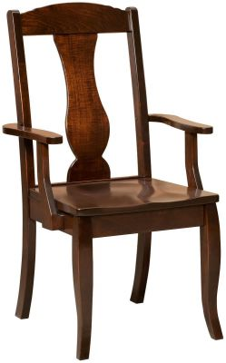 Arm chair in Brown Maple