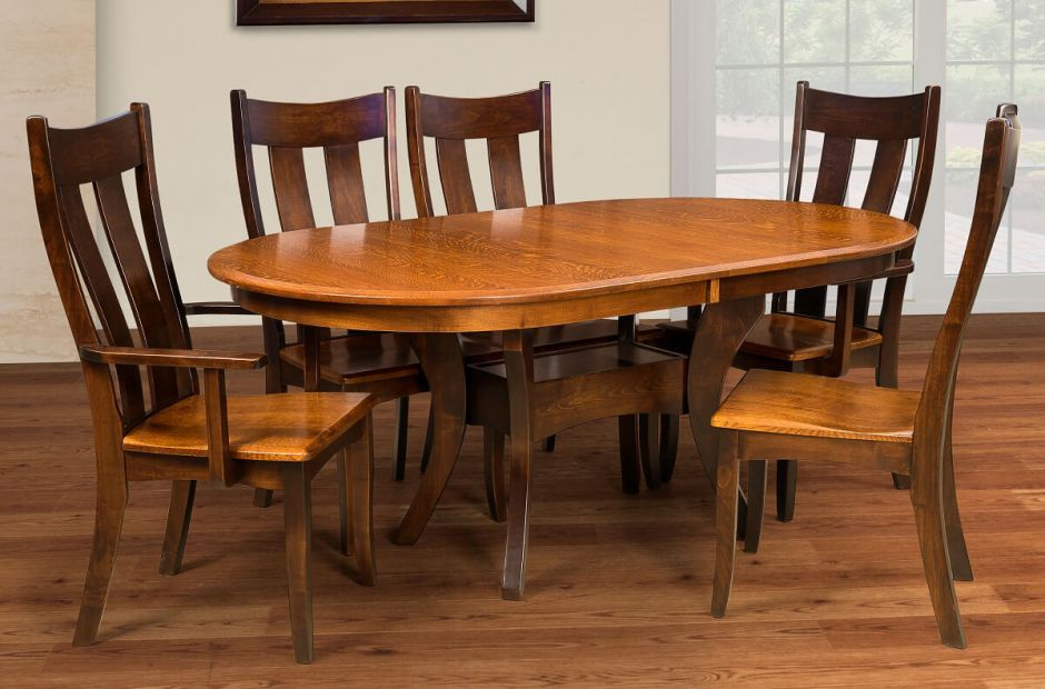 Knox County Transitional Dining Set image 1