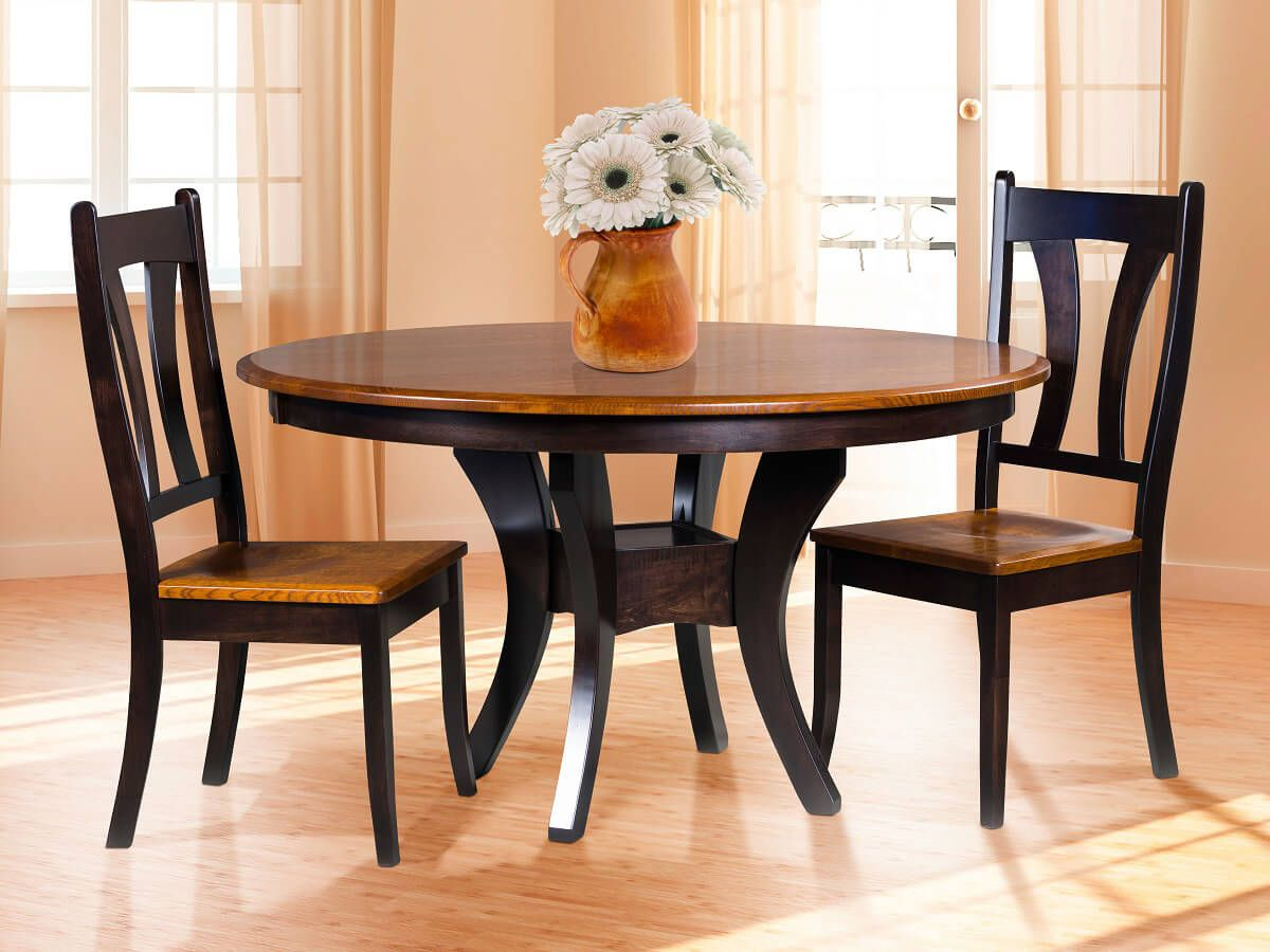 Knox County Round Dining Table