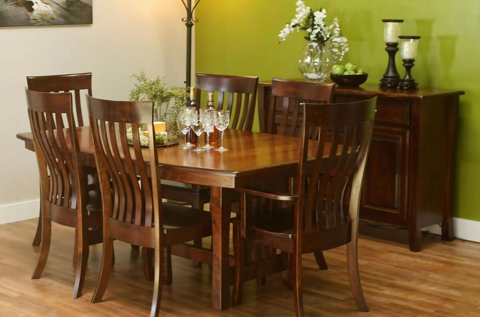 montrachet formal dining set countryside amish furniture
