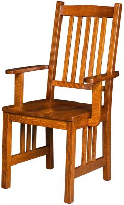 Red River Mission Arm Chair