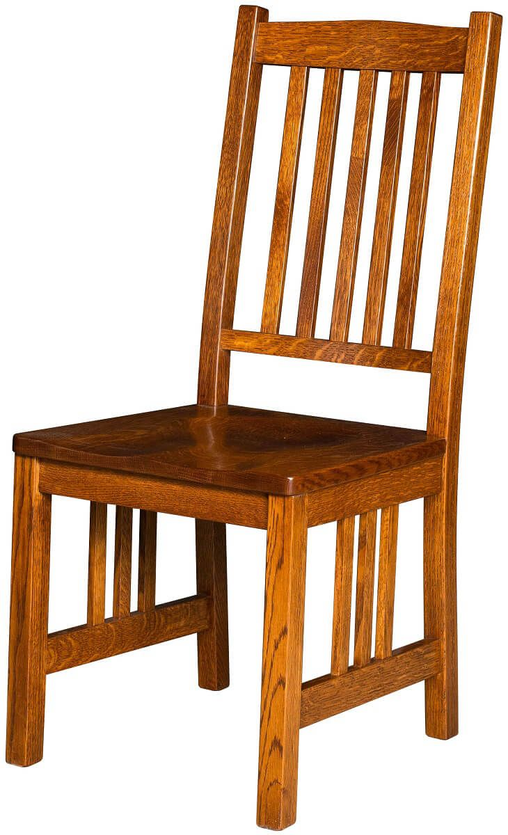 Red River Mission Side Chair
