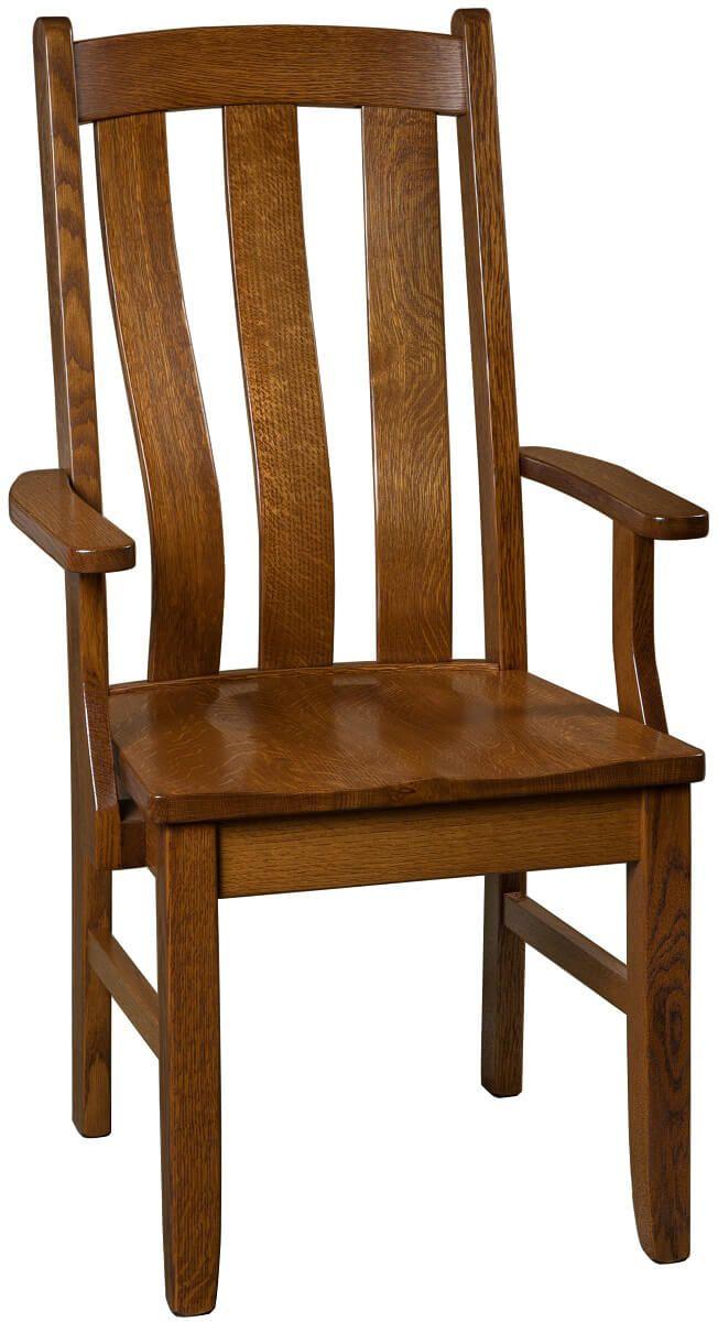Riedel Modern Shaker Arm Chair