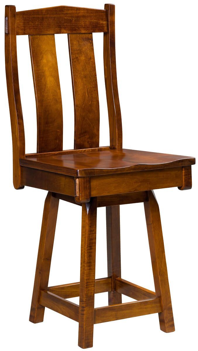 Sawyer Ridge Swivel Bar Stool