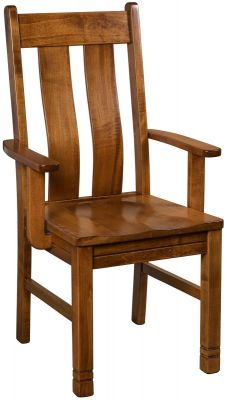 Talbot Solid Wood Arm Chair