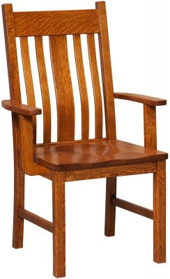 Taylor House Mission Arm Chair
