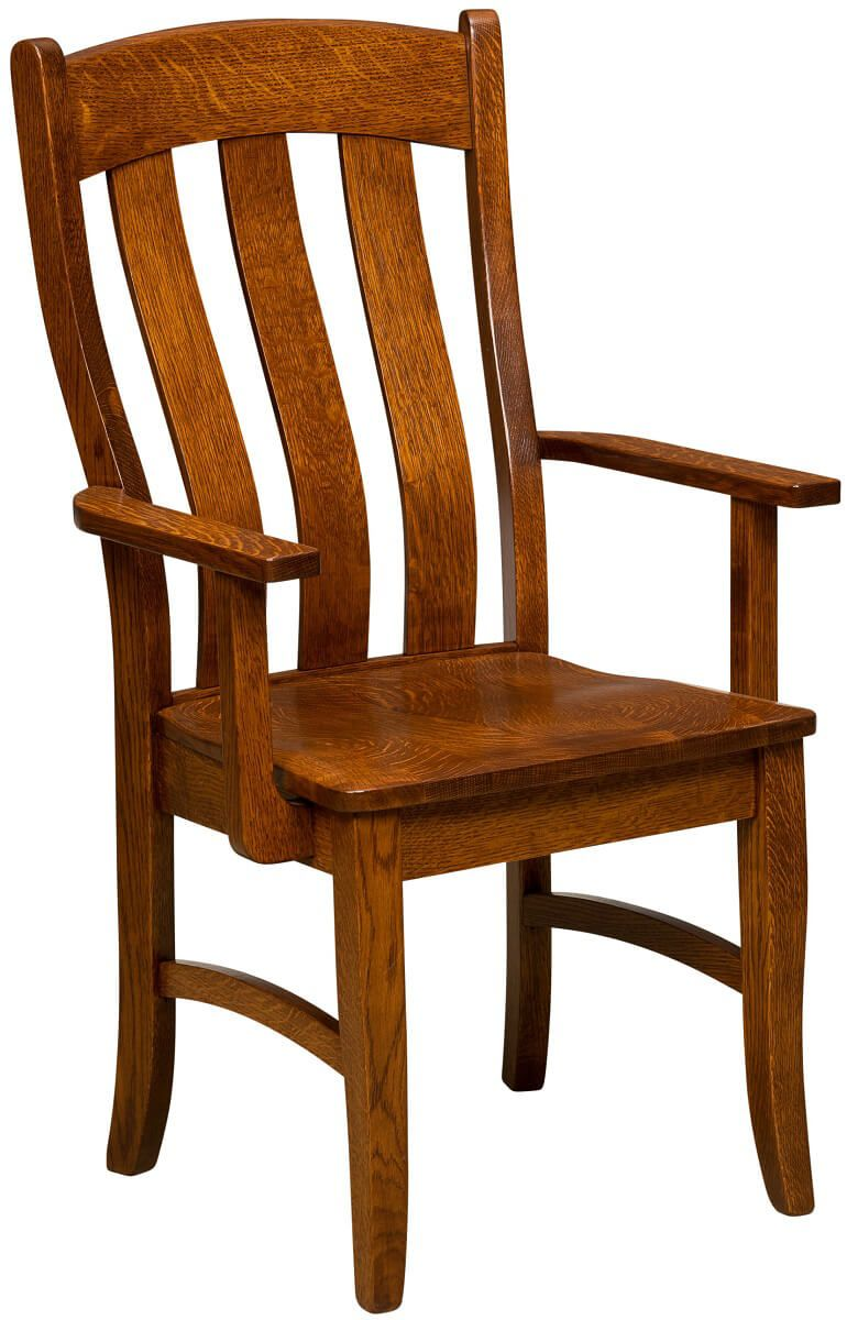 Wyeth Arm Chair in Quartersawn White Oak