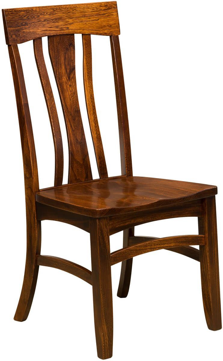 Xenia Side Chair in Elm