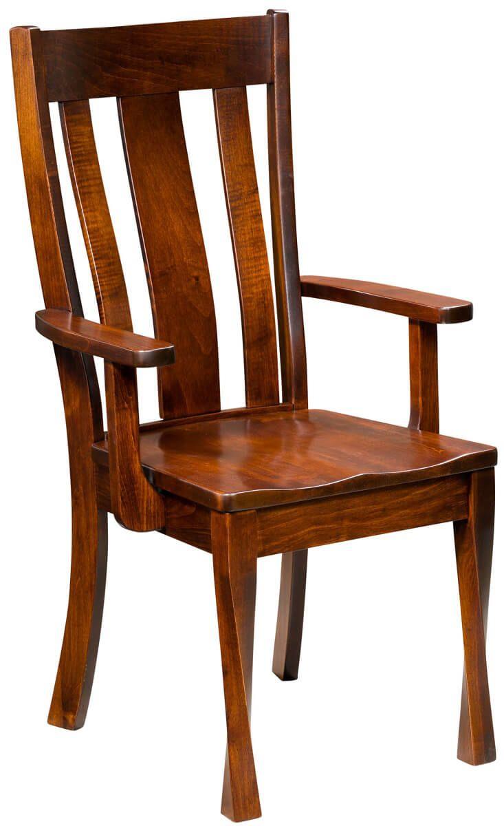 Dyersville Modern Dining Arm Chair