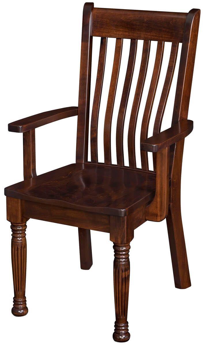 Alderson Farmhouse Kitchen Arm Chair
