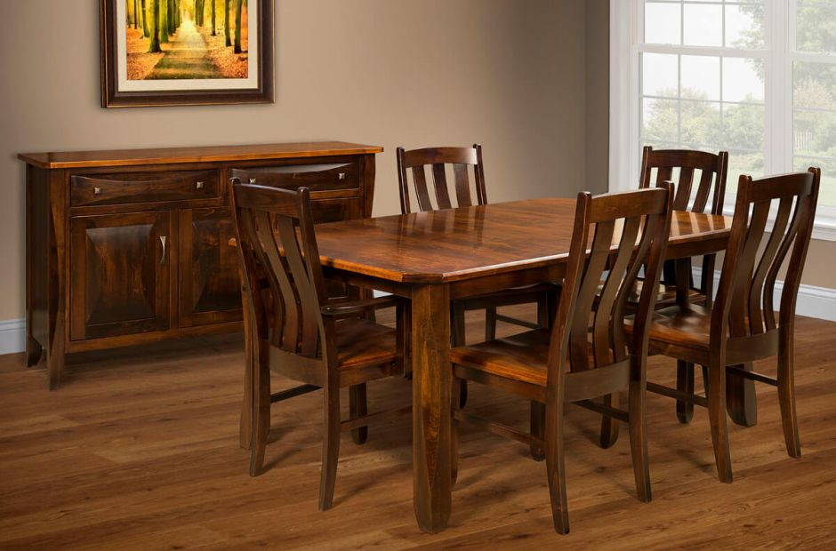 Baton Rouge Dining Room Set Countryside Amish Furniture