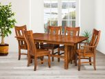 Craftsman Chairs with Masina Trestle Table