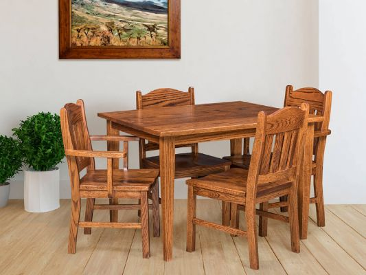 Manning Narrow Kitchen Table - Countryside Amish Furniture