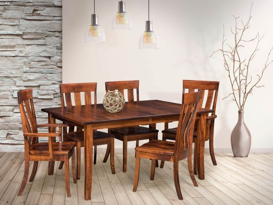 Butterfly Leaf Table and Ardmore Kitchen Chairs