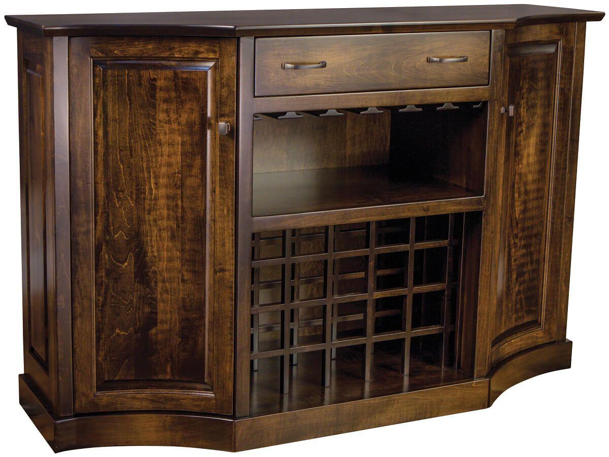 Clemmons Wine Storage Buffet
