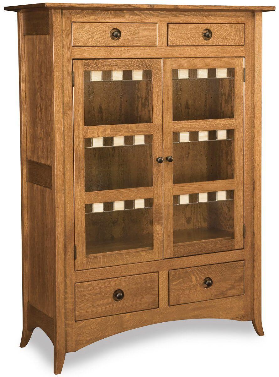 Cohen Shaker Glass Cabinet