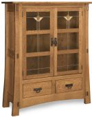 Del Toro Glass Door Cabinet