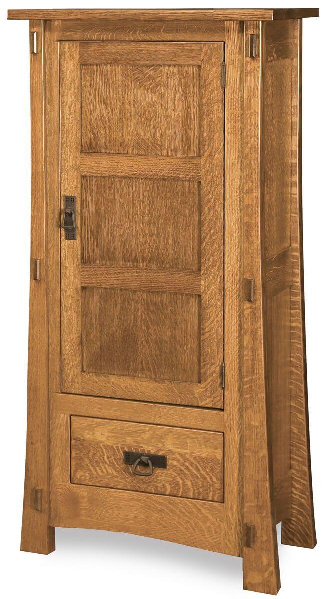Del Toro Narrow Wooden Cabinet