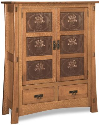 Del Toro Pantry Storage Cabinet Countryside Amish Furniture