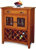 Hollowell Wine Rack Cabinet