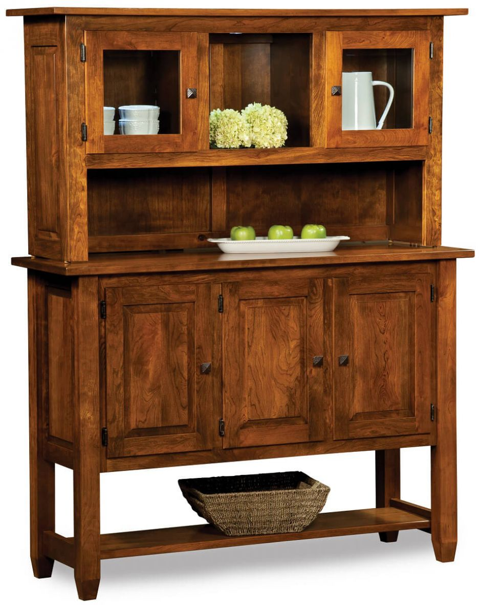messelthwaite petite china hutch countryside amish furniture