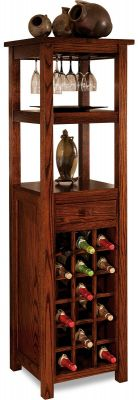 Pacific Dunes Tall Wine Rack