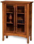 Shoal Creek Glass Cabinet