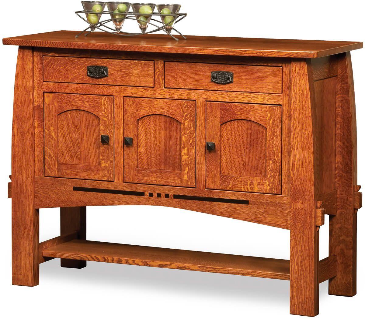 Sitka Craftsman Solid Wood Buffet Server