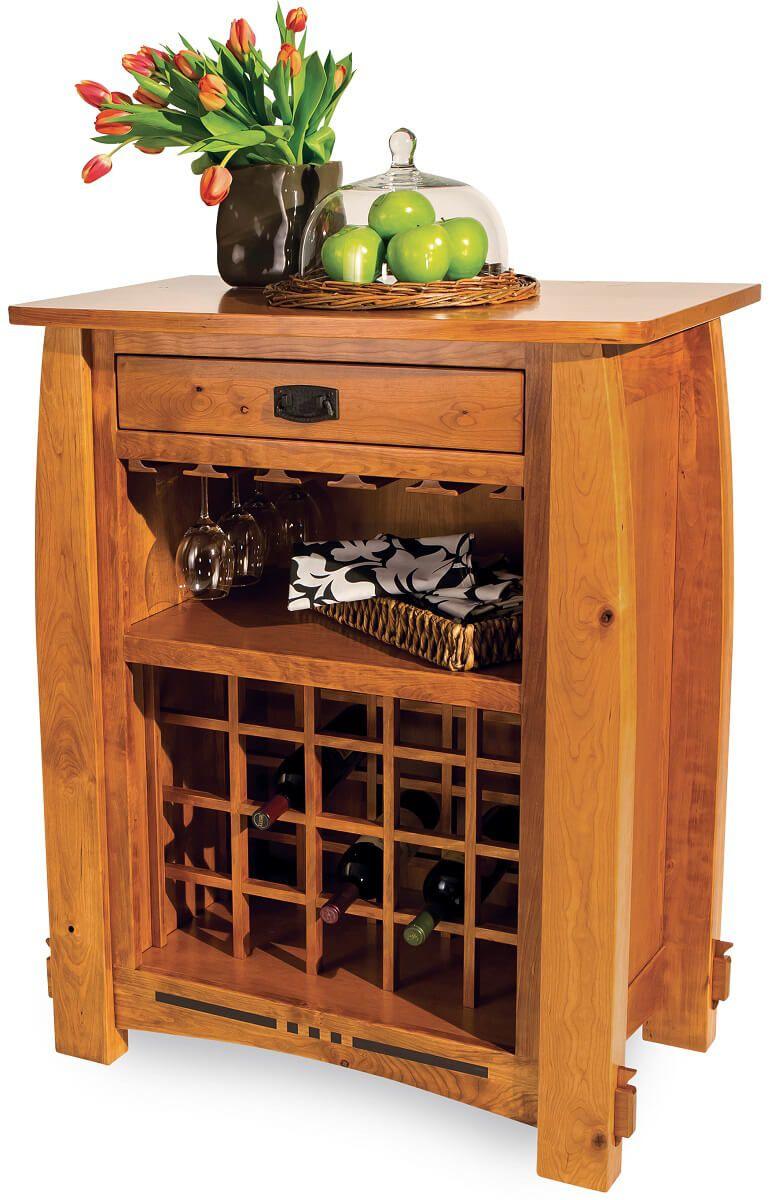 Sitka Craftsman Wine Rack