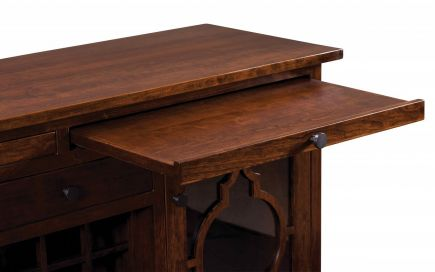 Handmade Wine Racks & Cabinets - Countryside Amish Furniture