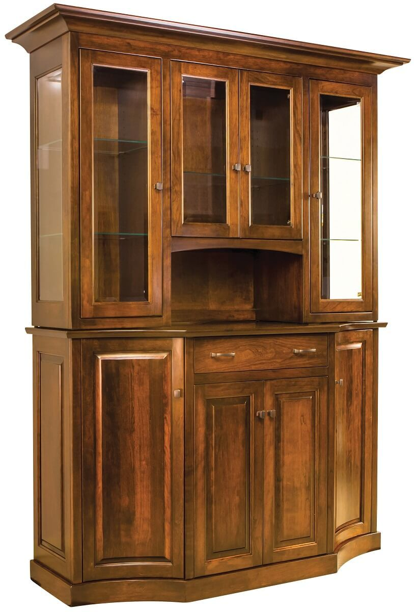 Clemmons Canted China Cabinet