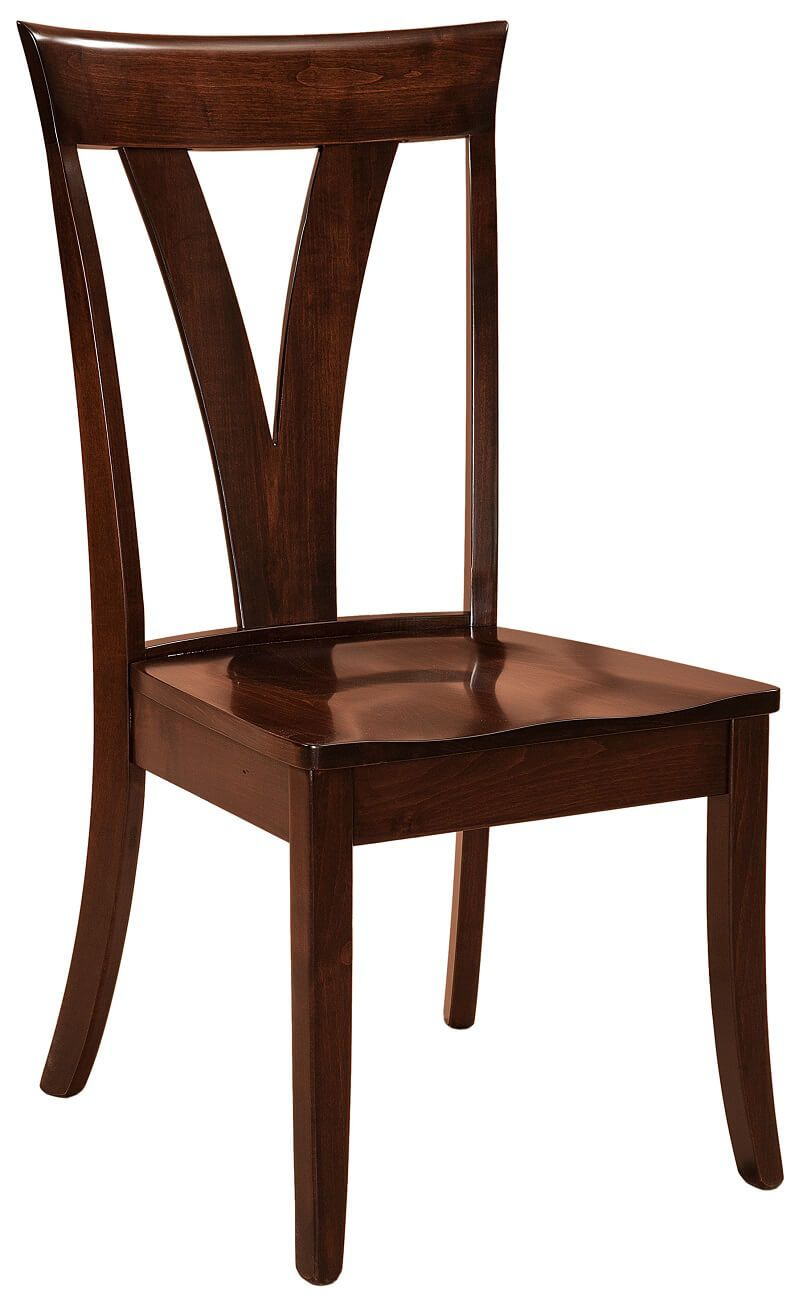 Plaza Modern Amish Dining Chairs Countryside Amish Furniture