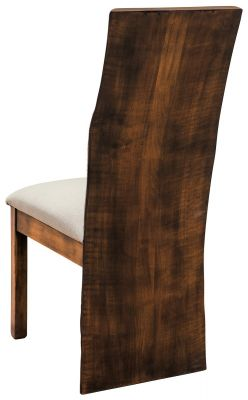 Live Edge Modern Dining Chair
