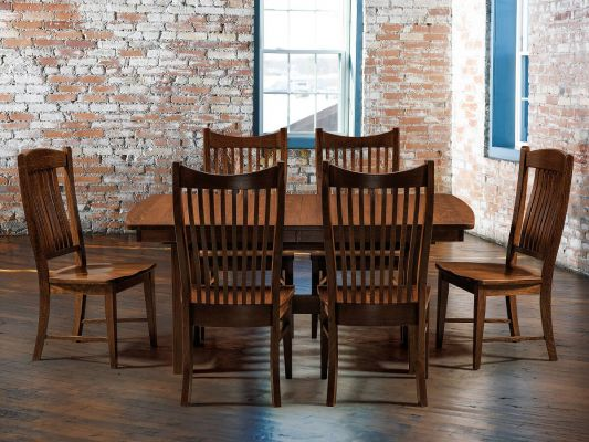 Shown with Arroyo Mission Table and Cohen Chairs
