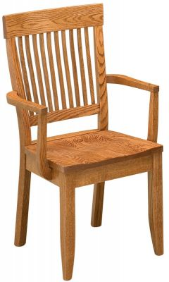 Side Chair shown in Oak