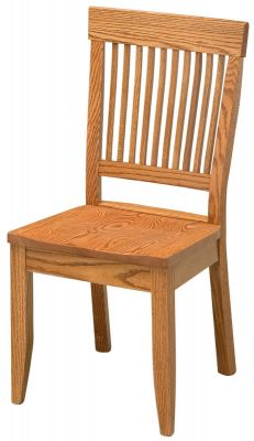 Arm Chair shown in Oak