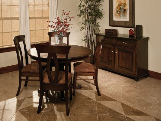 Hillsborough Single Pedestal Dining Set