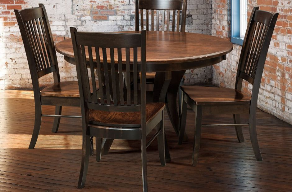 Knox County Transitional Dining Set image 2