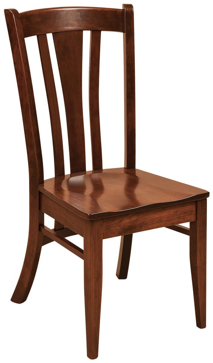Ligare Solid Wood Dining Room Chairs Countryside Amish