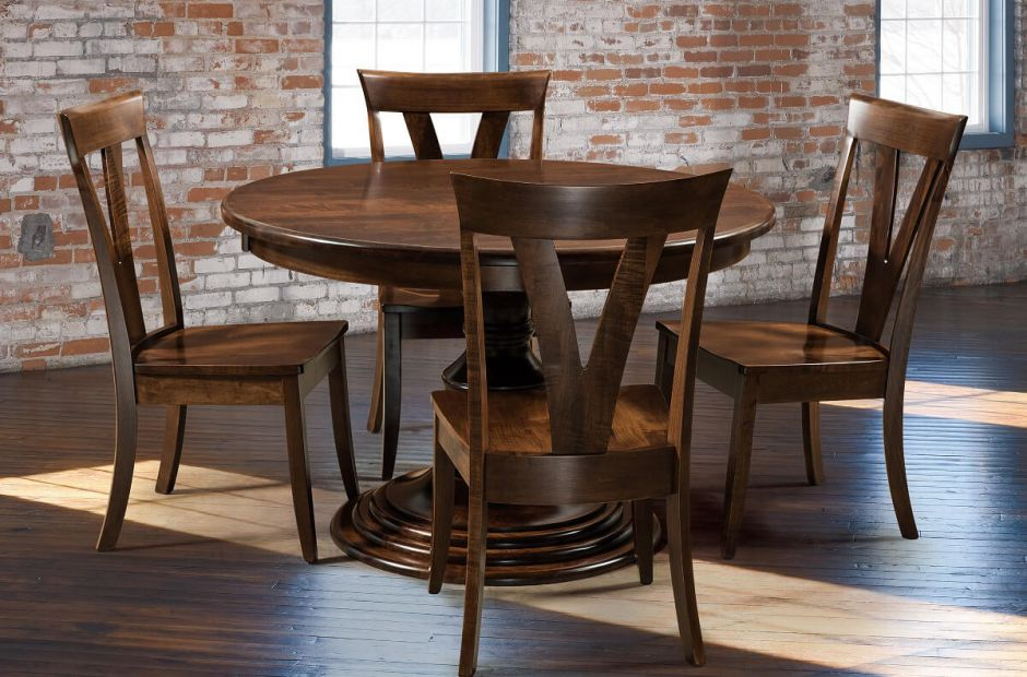 Livingston Dining Table and Chairs Set image 2