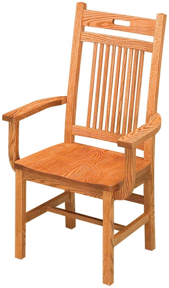 Sacramento Mission Arm Chair