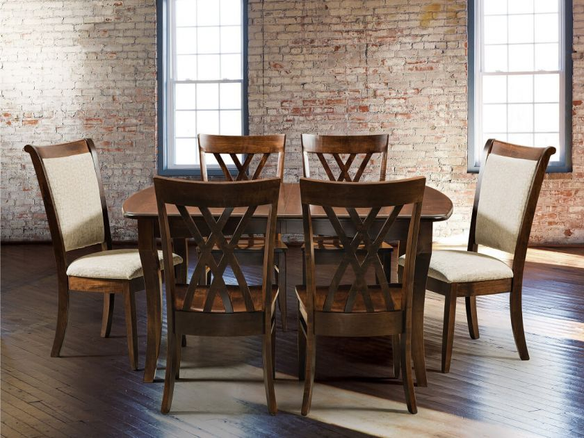 Sarandon Butterfly Leaf Dining Set Countryside Amish