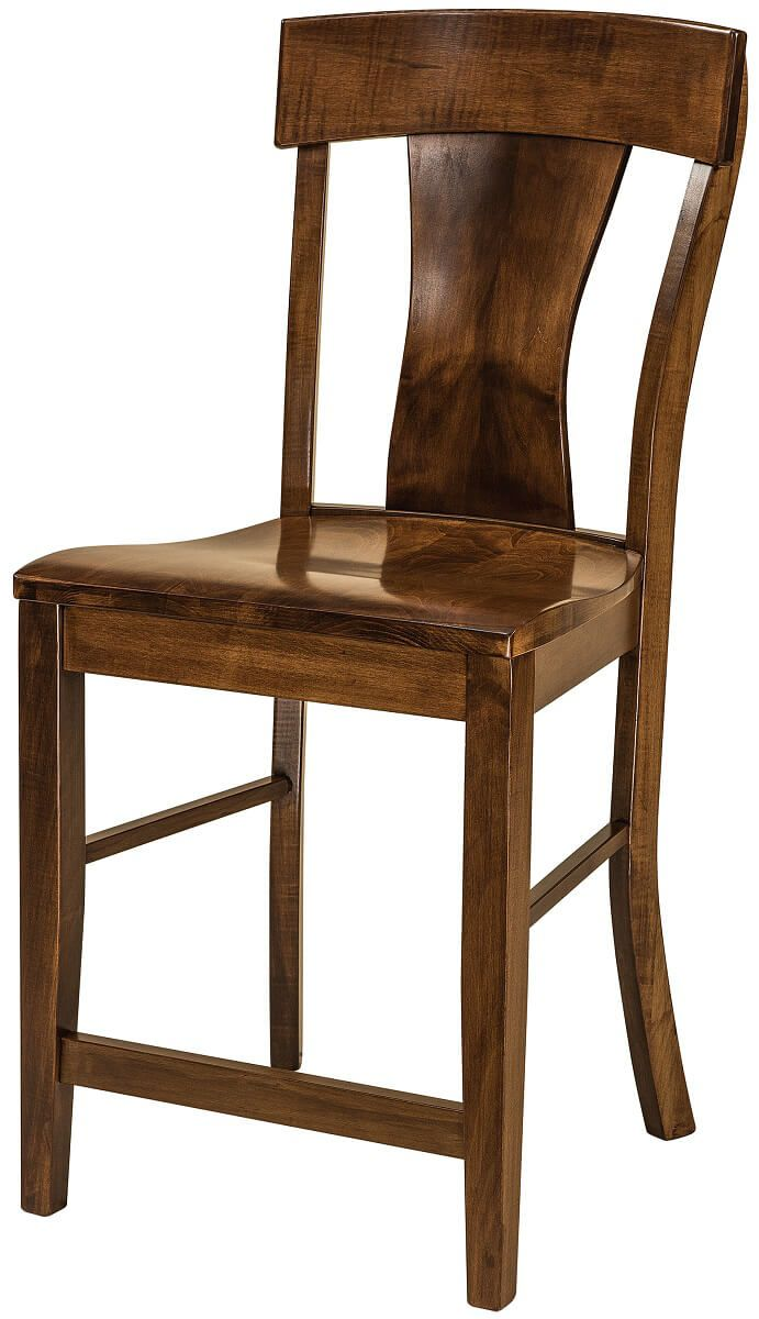 Vitra Modern Bar Chair in Brown Maple