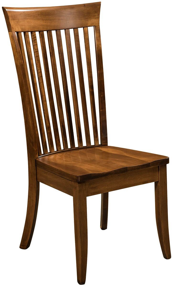 Shaker Dining Chair in Brown Maple