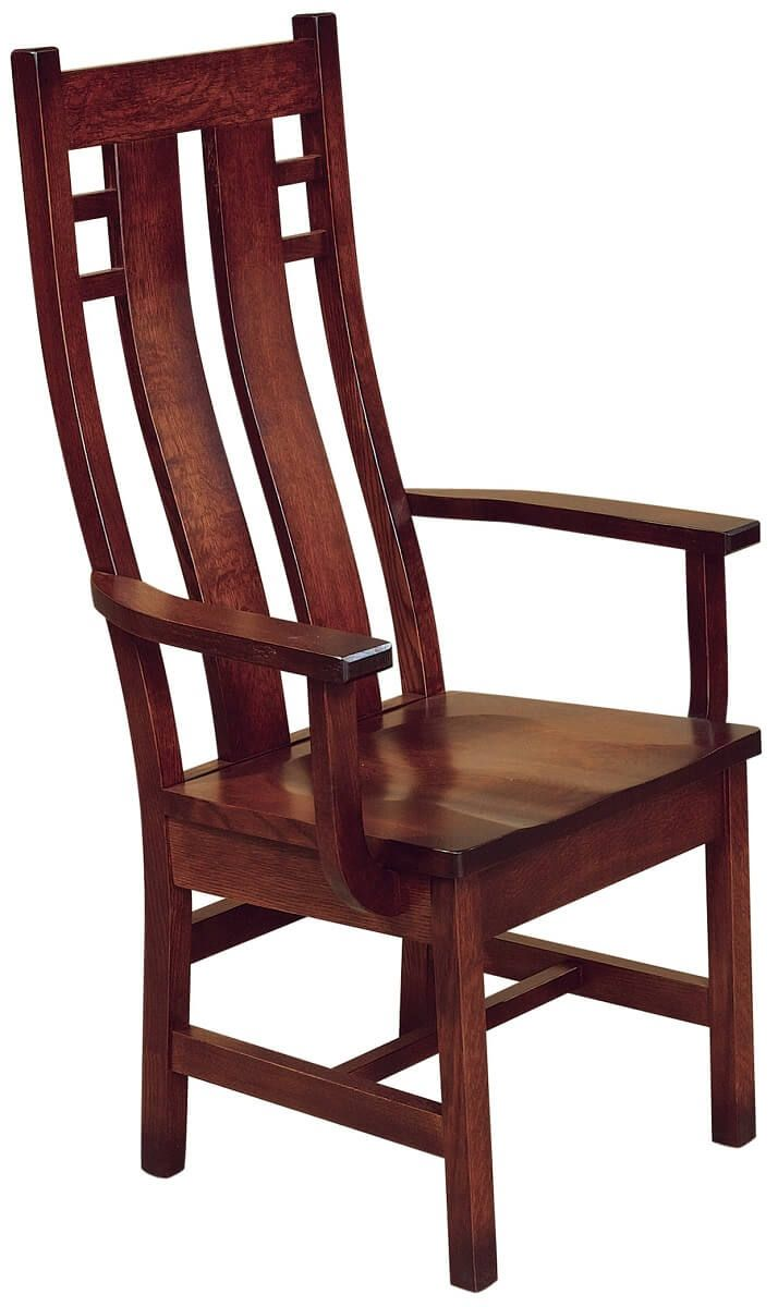 Alamo High Back Arm Chair