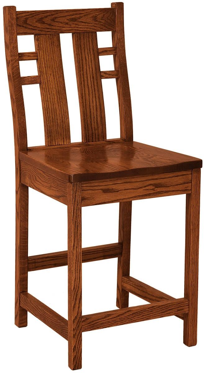Alamo Craftsman Bar Chair